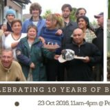Banner - celebrating 10 years of backyard blitzing!!