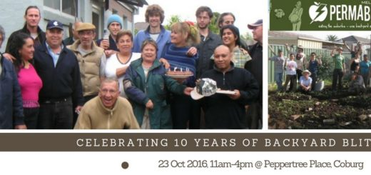 Join us to celebrate 10 years of backyard blitzing!!